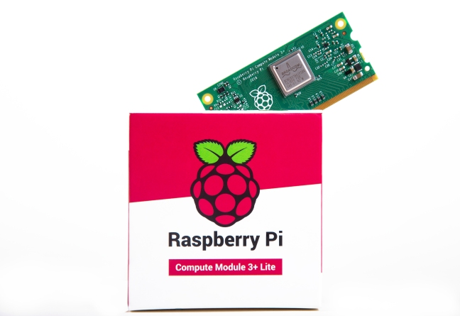 A product image for RASPBERRY PI COMPUTE-MODUL 3+ LITE