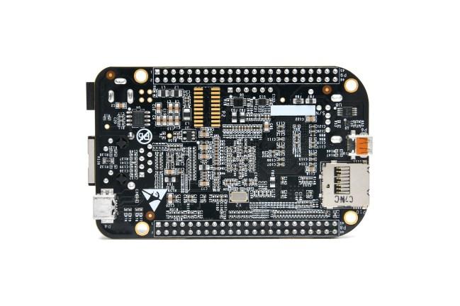 A product image for BeagleBoard.org® BeagleBone® Schwarz