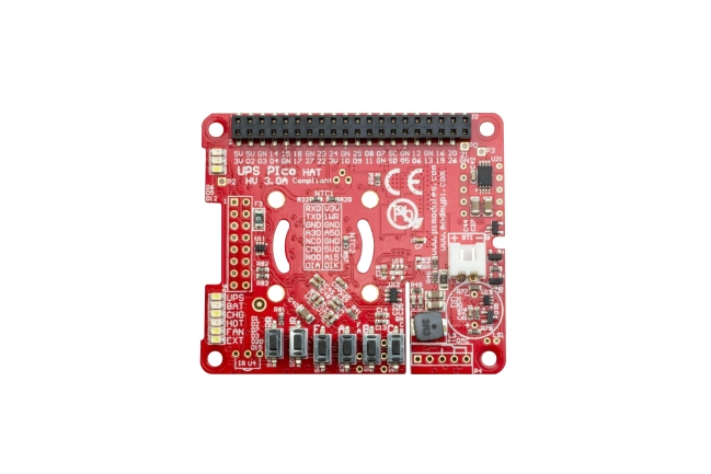 A product image for UPS PIco – Raspberry Pi UPS HAT