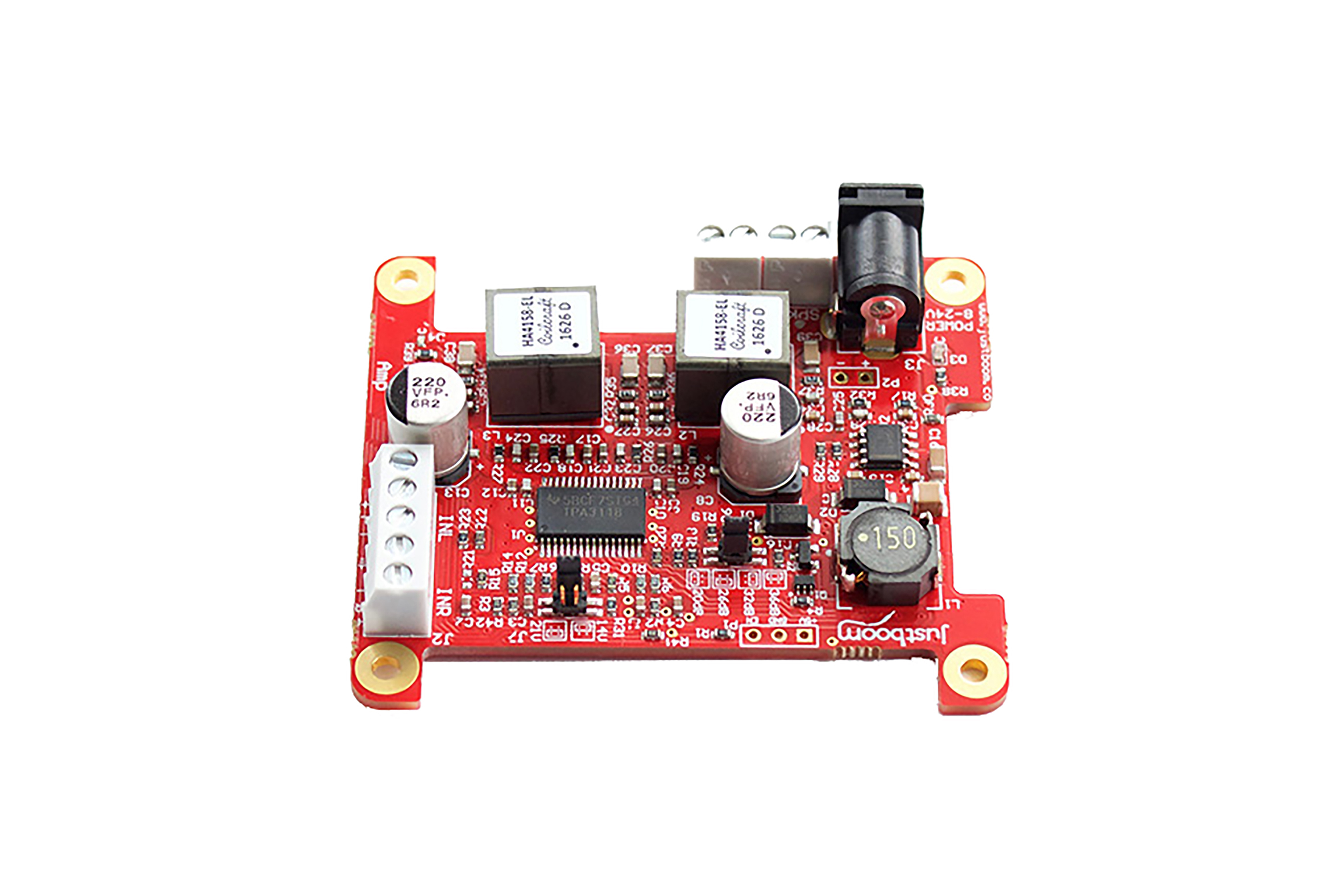 JustBoom Amp-Zusatzplatine