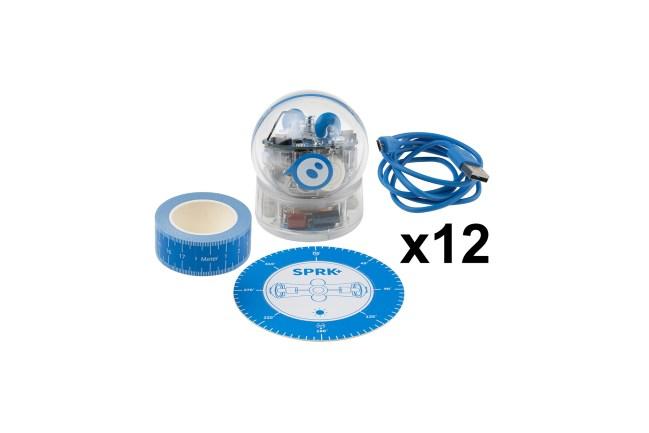A product image for SPHERO SPRK + AUSBILDUNG 12er PAKET