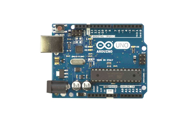 A product image for Arduino Starter-Kit mit UNO-Platine