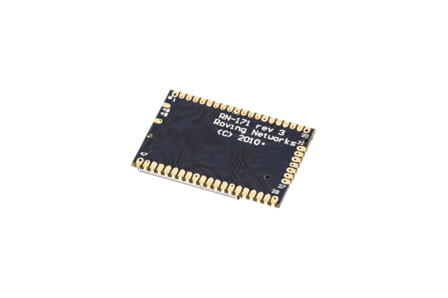 A product image for WiFi 802.11 b/g SMD-Modul mit RF-Pad