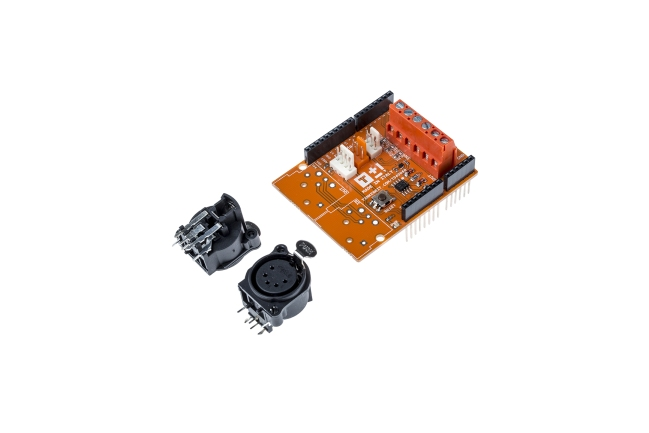 A product image for ARDUINO TINKERKIT DMX MASTER SHIELD