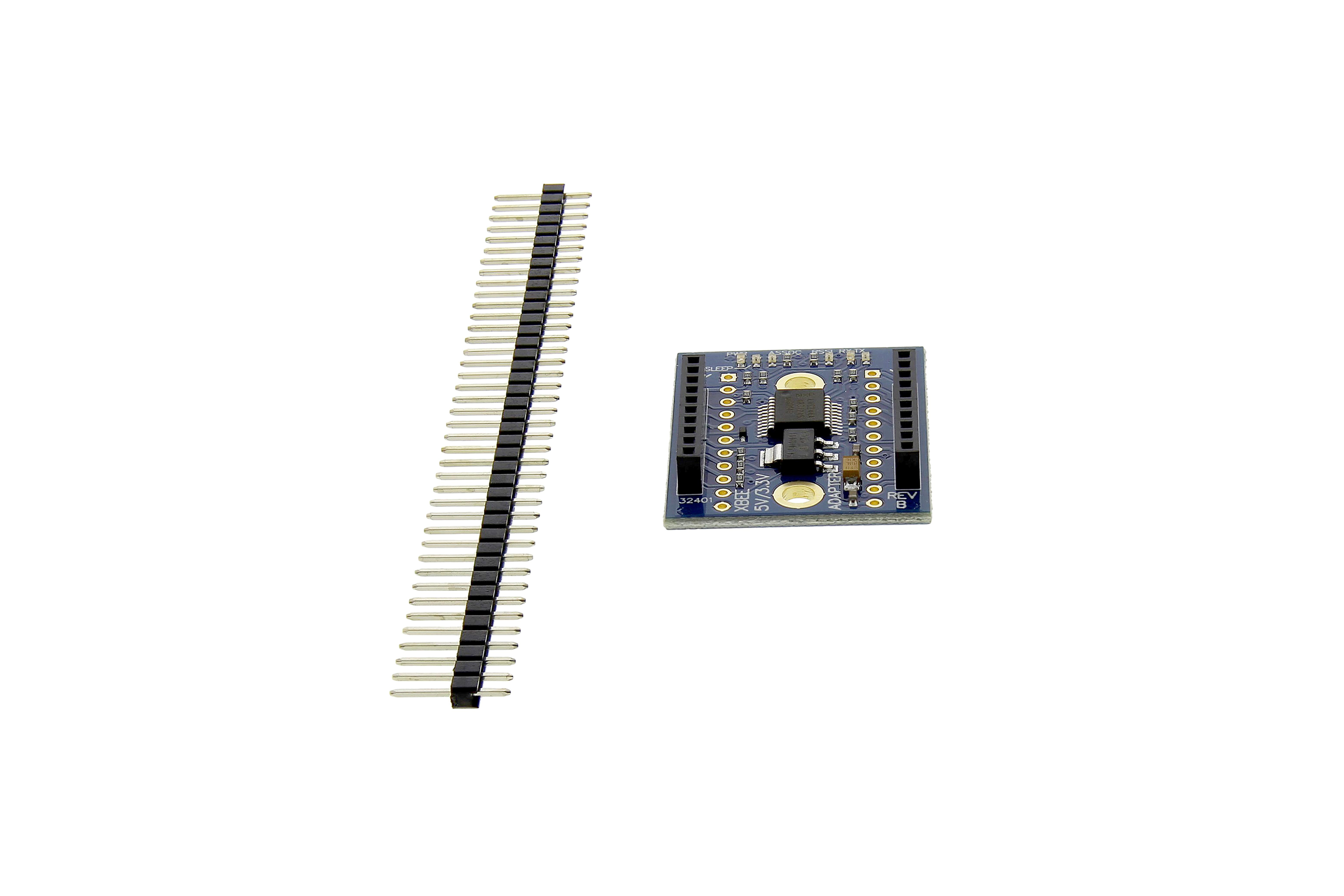 Xbee 5 V / 3,3 V Adapterplatine
