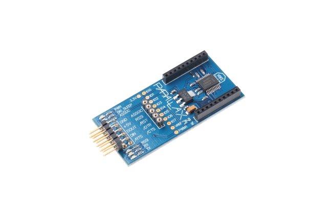 A product image for XBEE 5 V / 3,3 V SIP ADAPTERPLATINE