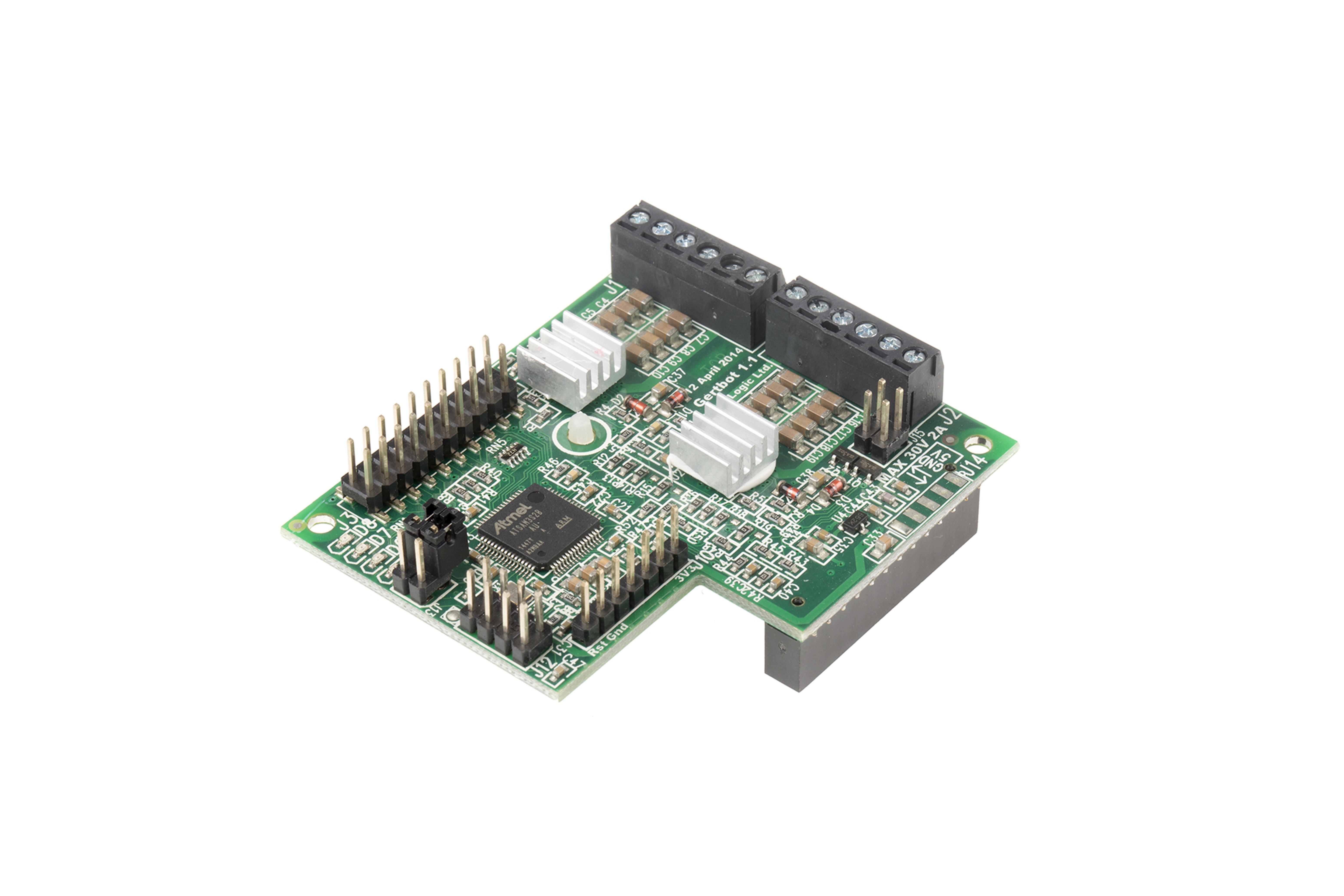 Gertbot Roboter-Platine für Raspberry Pi