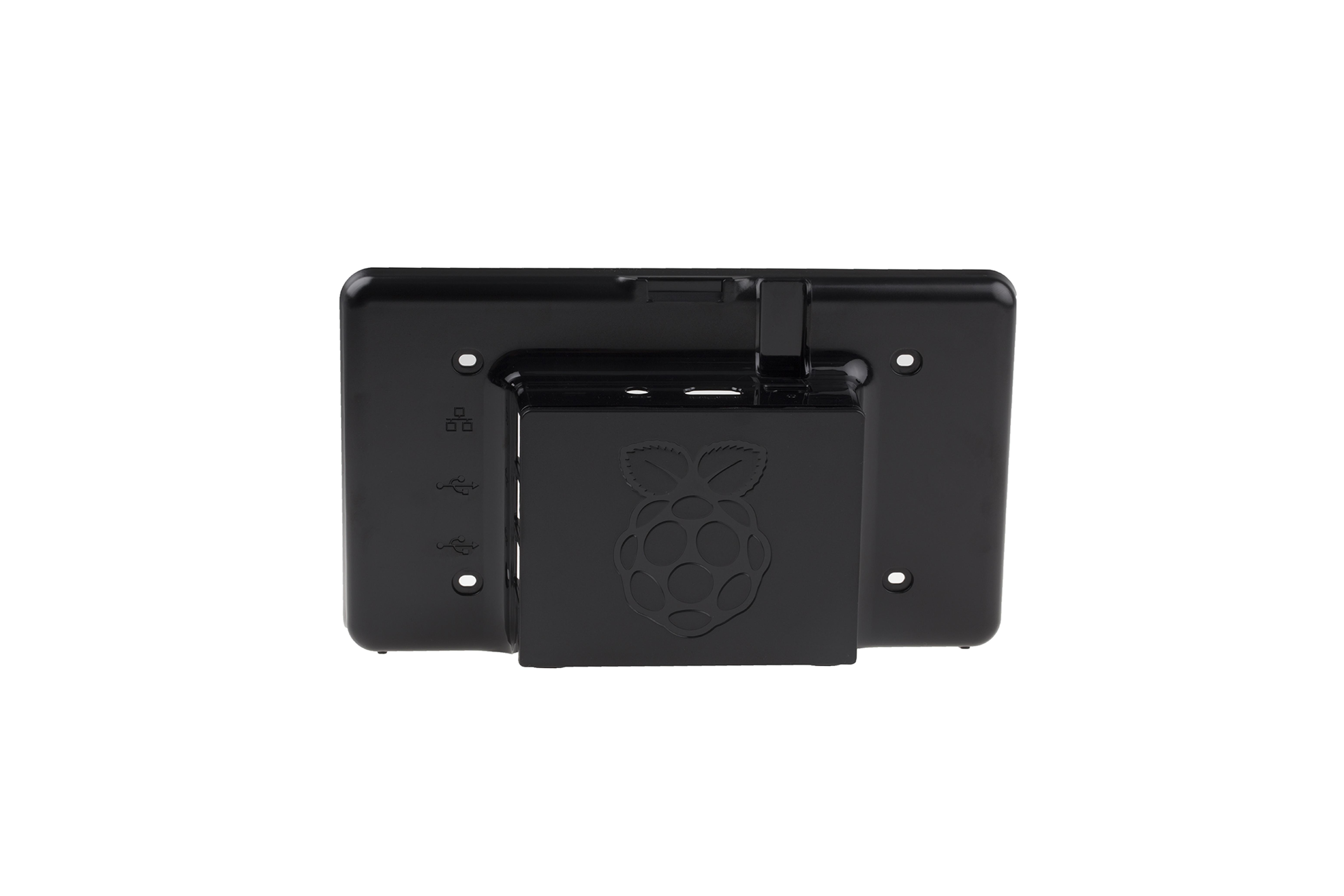 Touchscreen-Gehäuse für RaspberryPi - schwarz