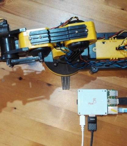 Flick Hat Robotic Arm Controller