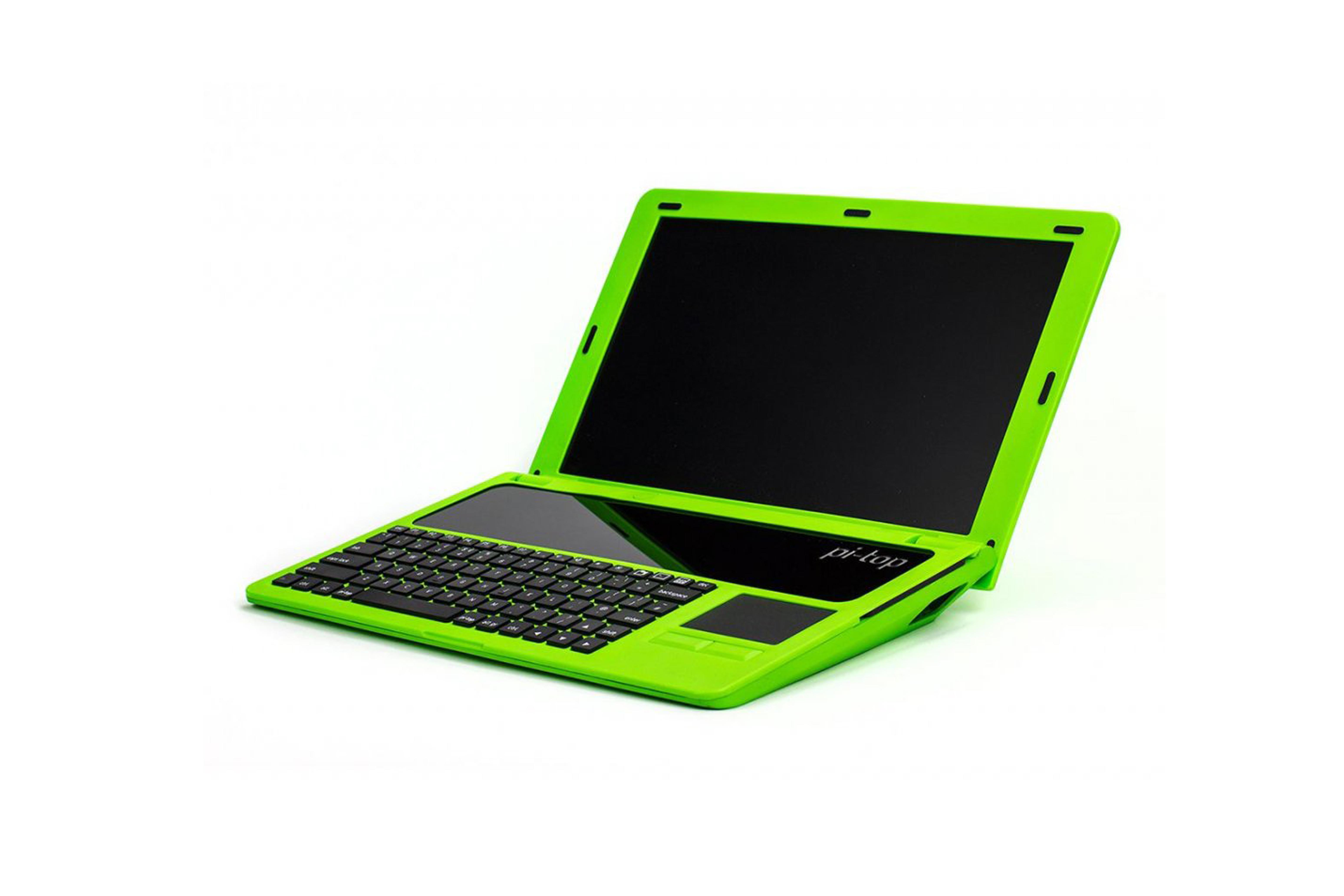 Pi-Top US-Tastatur und US-Netzteil- grün