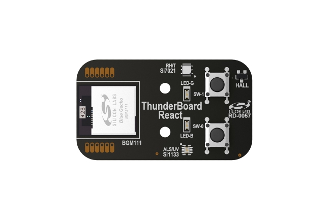 A product image for ThunderBoard-ReactConnectedCloud-Platine