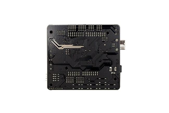 A product image for Romeo Arduino Roboterplatine mit Motortreiber