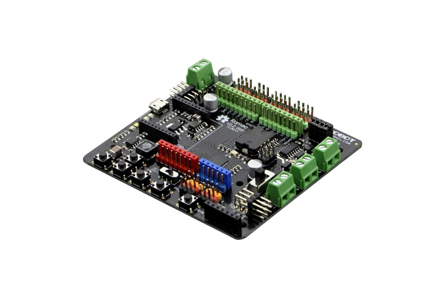 A product image for ROMEO V2 ARDUINO ROBOTERPLATINE MIT MOTORTREIBER