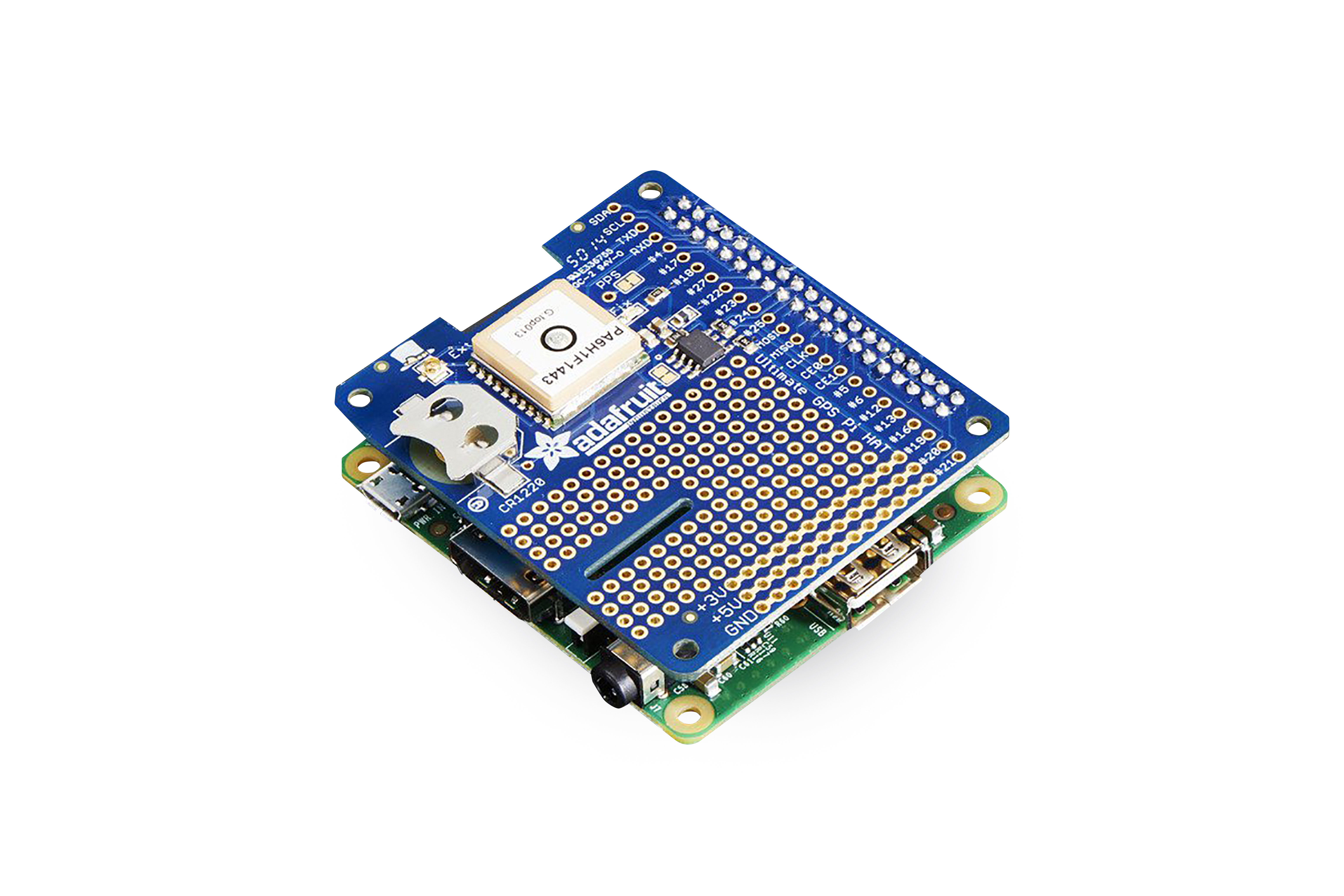 Adafruit Ultimate GPS HAT fürRaspberry Pi