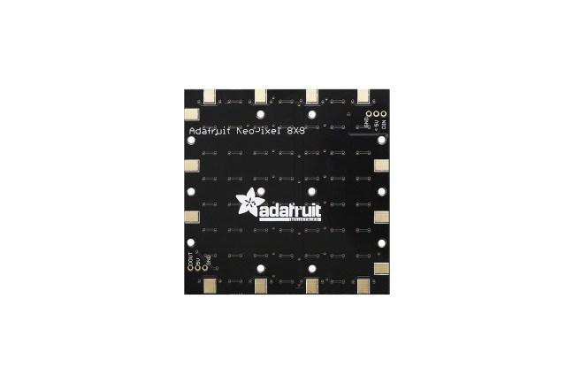 A product image for NEOPIXEL NEOMATRIX 64 RGBW LED 3000K