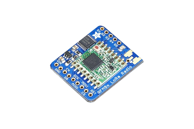 A product image for Adafruit LoRa Transceiver-Board 433 MHz