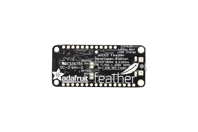 A product image for Adafruit WICED WiFi Feather Entwicklungsplatine