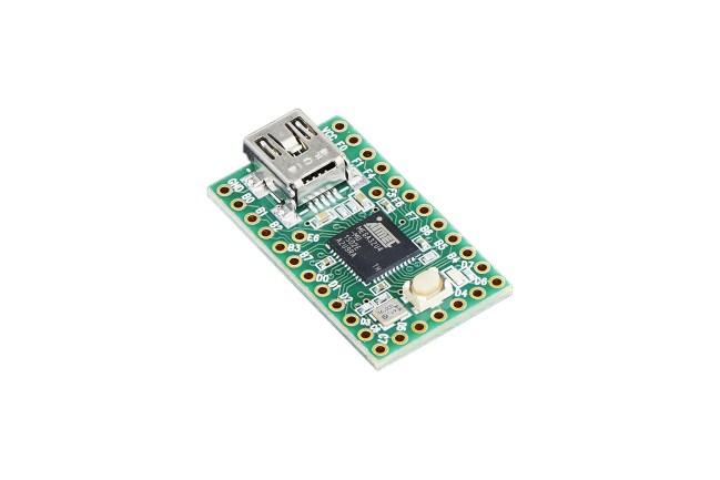 A product image for Teensy 2.0 – ATmega32u4 USB-Entwicklungsplatine