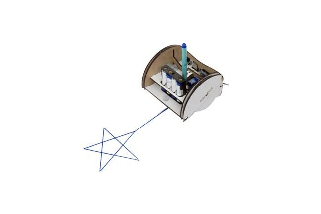 A product image for MIROBOT ZEICHENROBOTER-KIT – VOLLSTÄNDIGES KIT