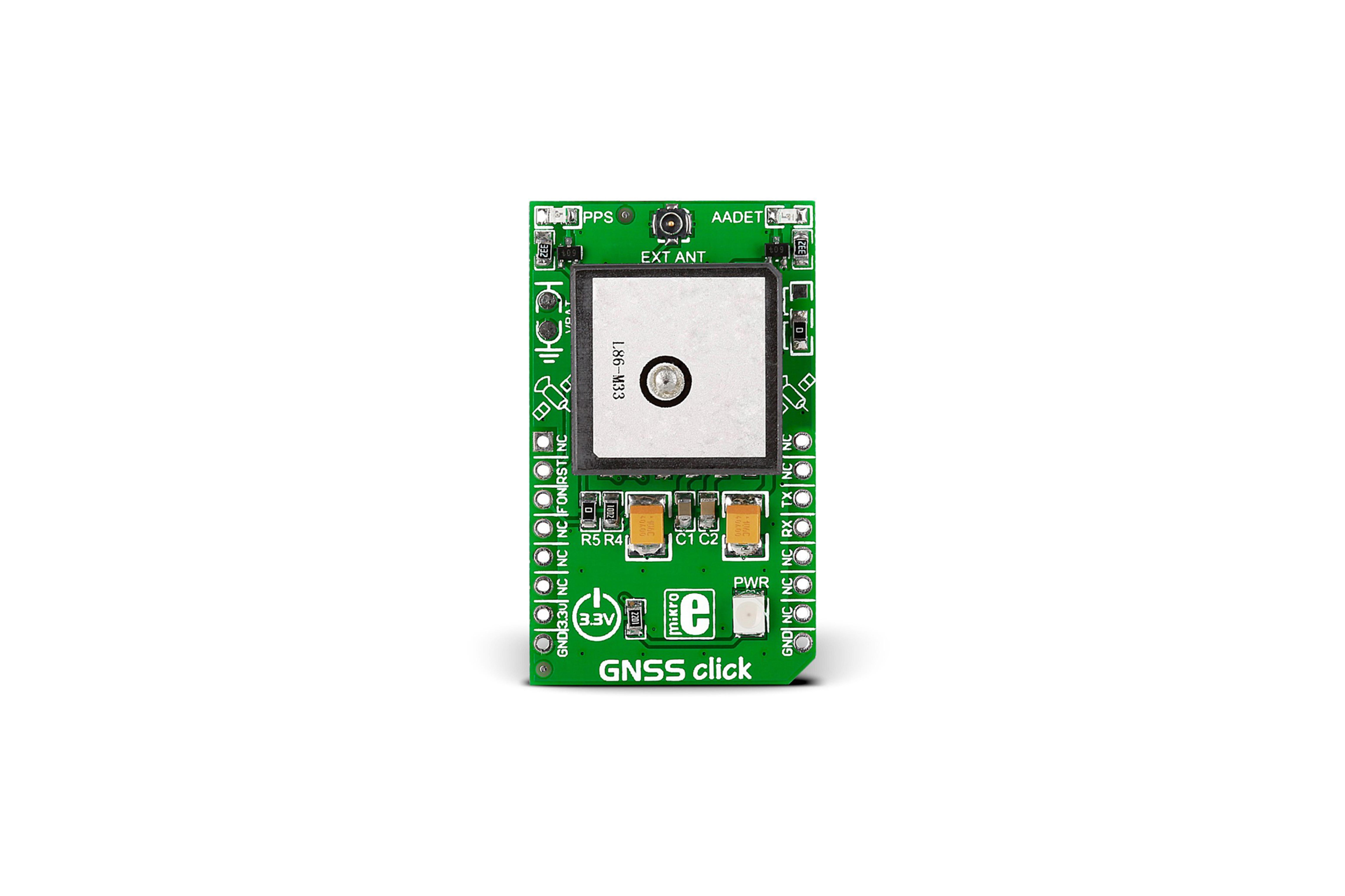 GNSS GPS / GLONASS-CLICK-POSITIONIERKARTE