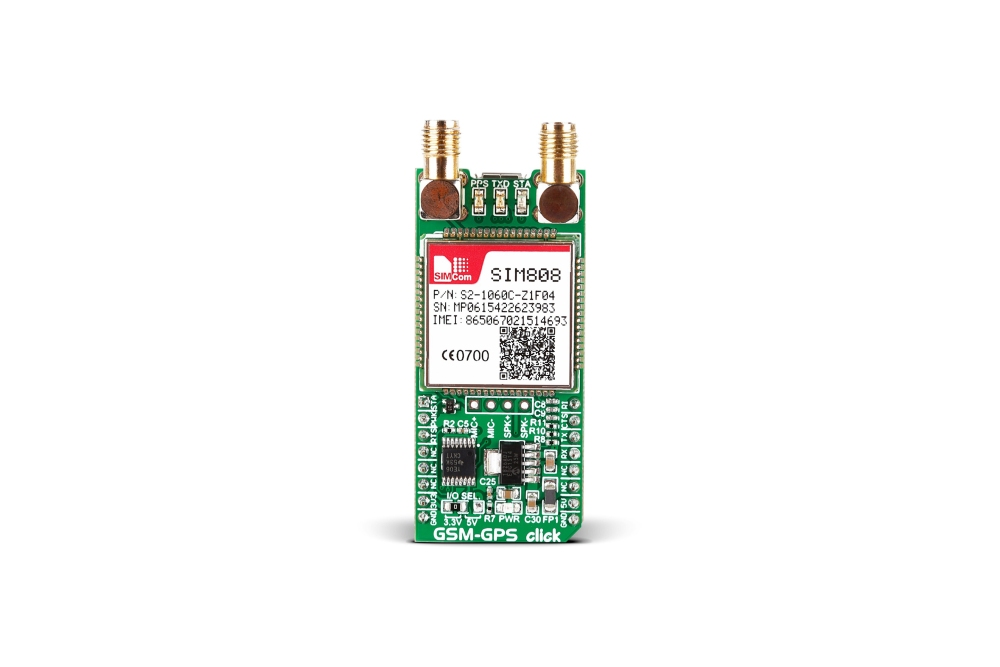 GSM-GPSTRANSCEIVER-CLICK-PLATINE