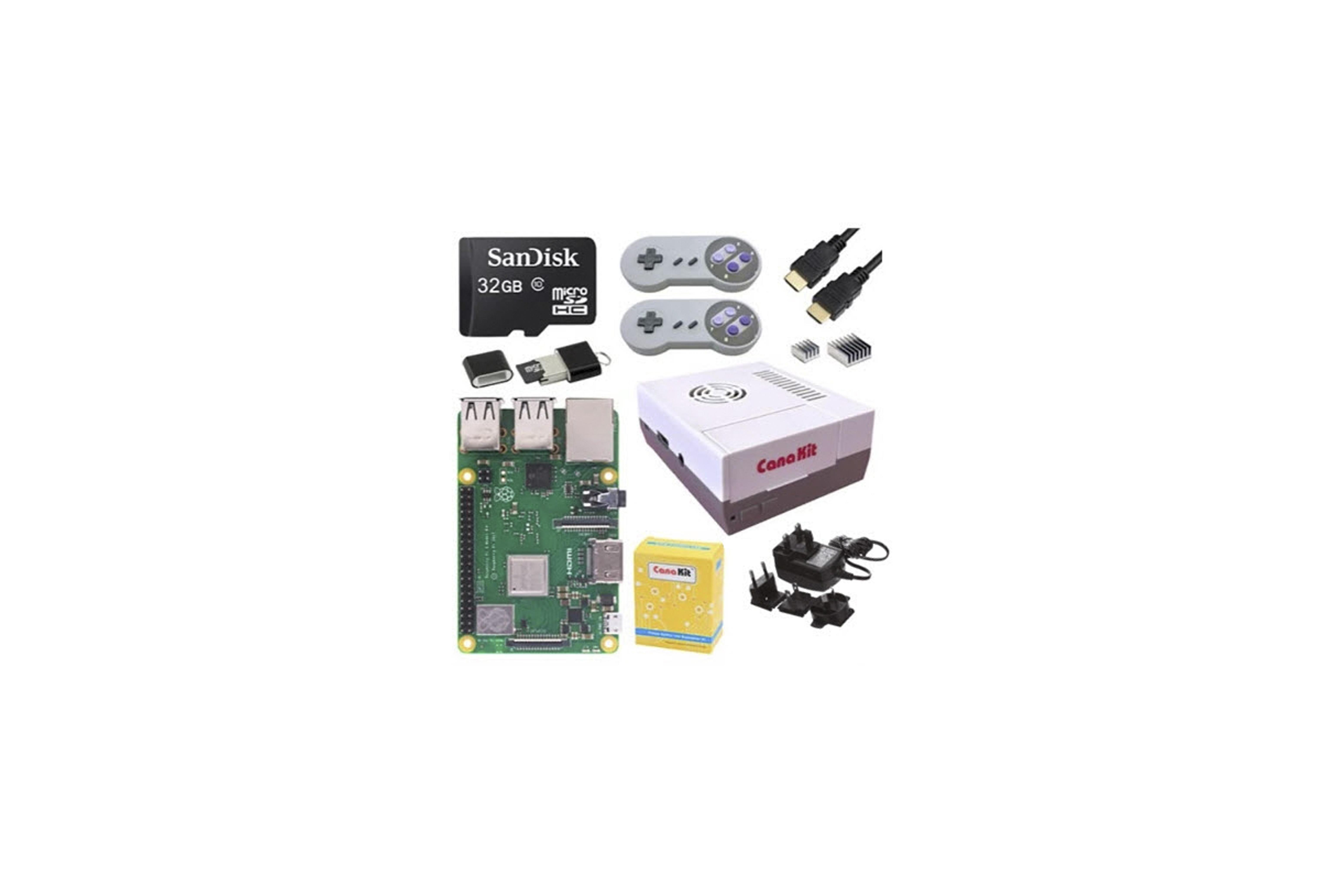 RPI 3 B+ RETRO GAMING KIT - 32 GB