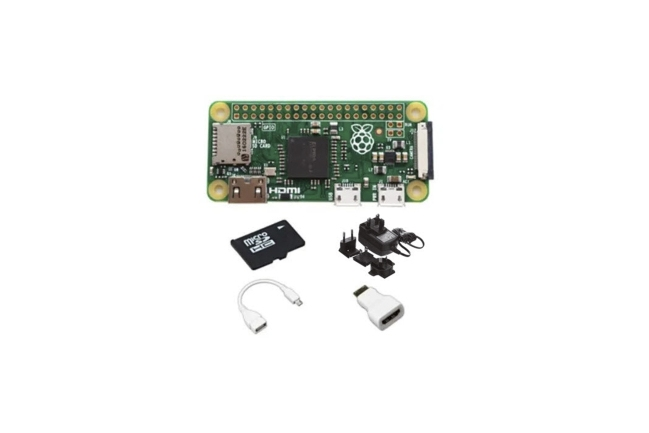 A product image for RPI ZERO MIT STARTER-KIT – 16 GB