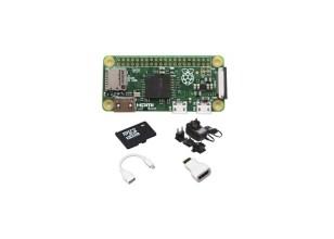 RPI ZERO MIT STARTER-KIT - 16 GB