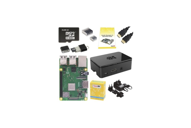 A product image for RPI 3 B+ STARTER-KIT – 16 GB