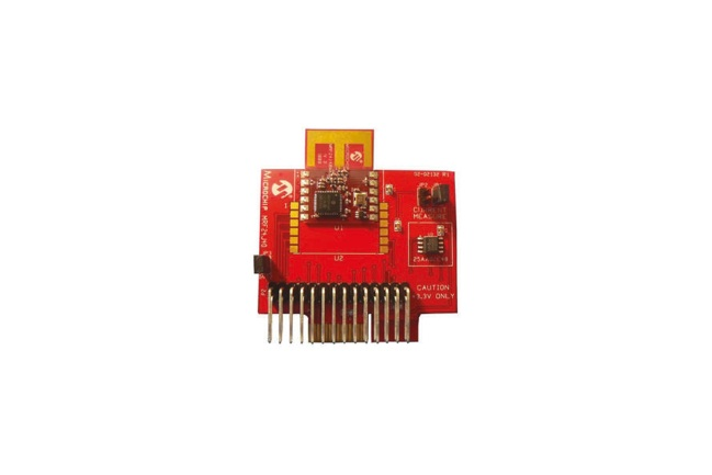 A product image for MRF24J40MB PICTAIL PLUS 2.4 GHz HF 0 DB