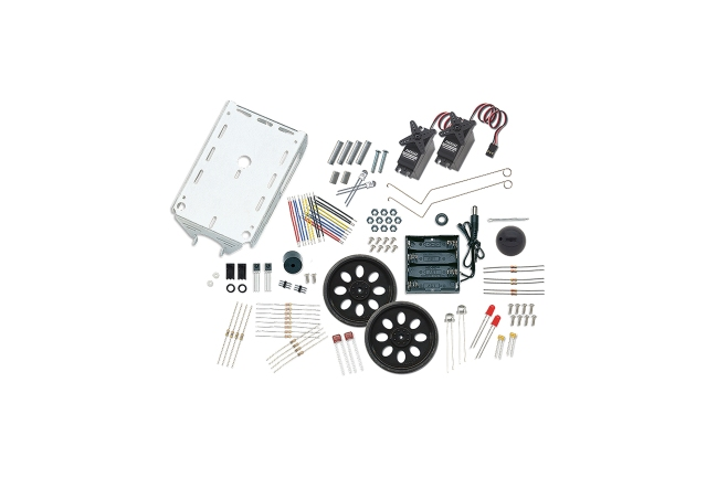 A product image for BOE-BOT ROBOTER-CHASSIS & SENSOR-KIT