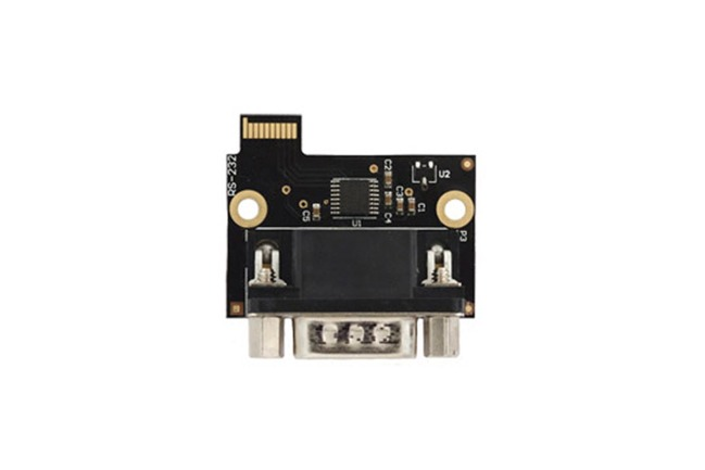 A product image for RS-232-MODUL MIT D-SUB9-STECKER