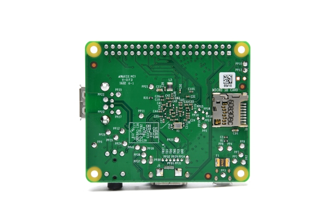 A product image for Raspberry Pi Modell A+