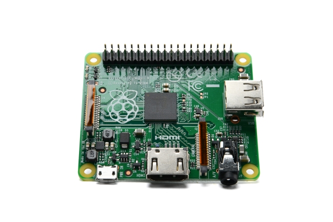 A product image for Raspberry Pi 3 Modell A+