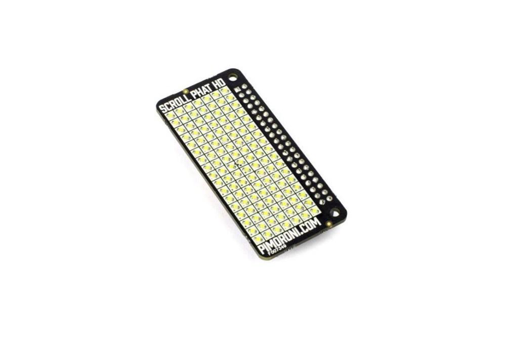 SCROLL PHAT HD LED-MATRIX FÜR PI
