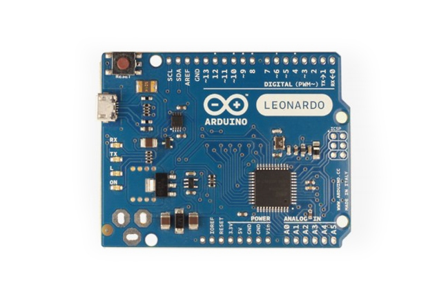 A product image for Arduino Leonardo