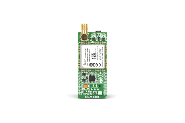 A product image for GSM Click mikroBUS