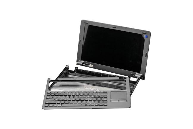 A product image for UK-Tastatur und Netzteil für Pi-Top – grau