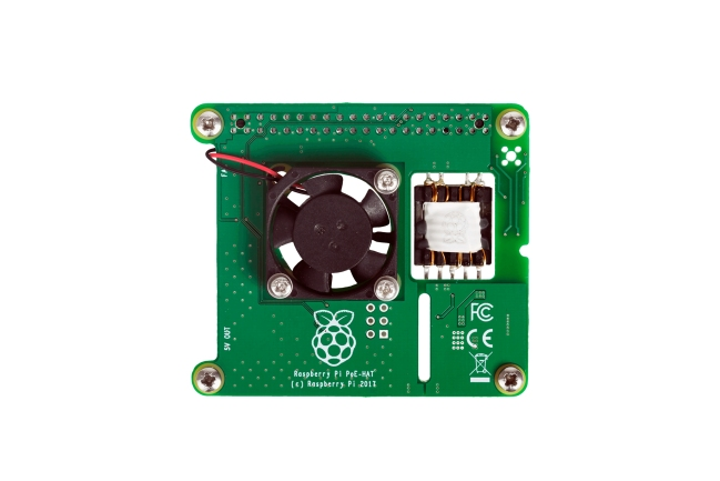 A product image for Raspberry Pi POE-Platine
