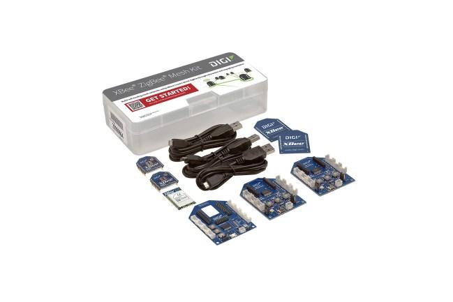 A product image for XBee ZigBee Grove Mesh Kit