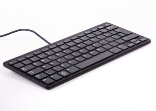 Raspberry Pi Keyboard De Black/Grey