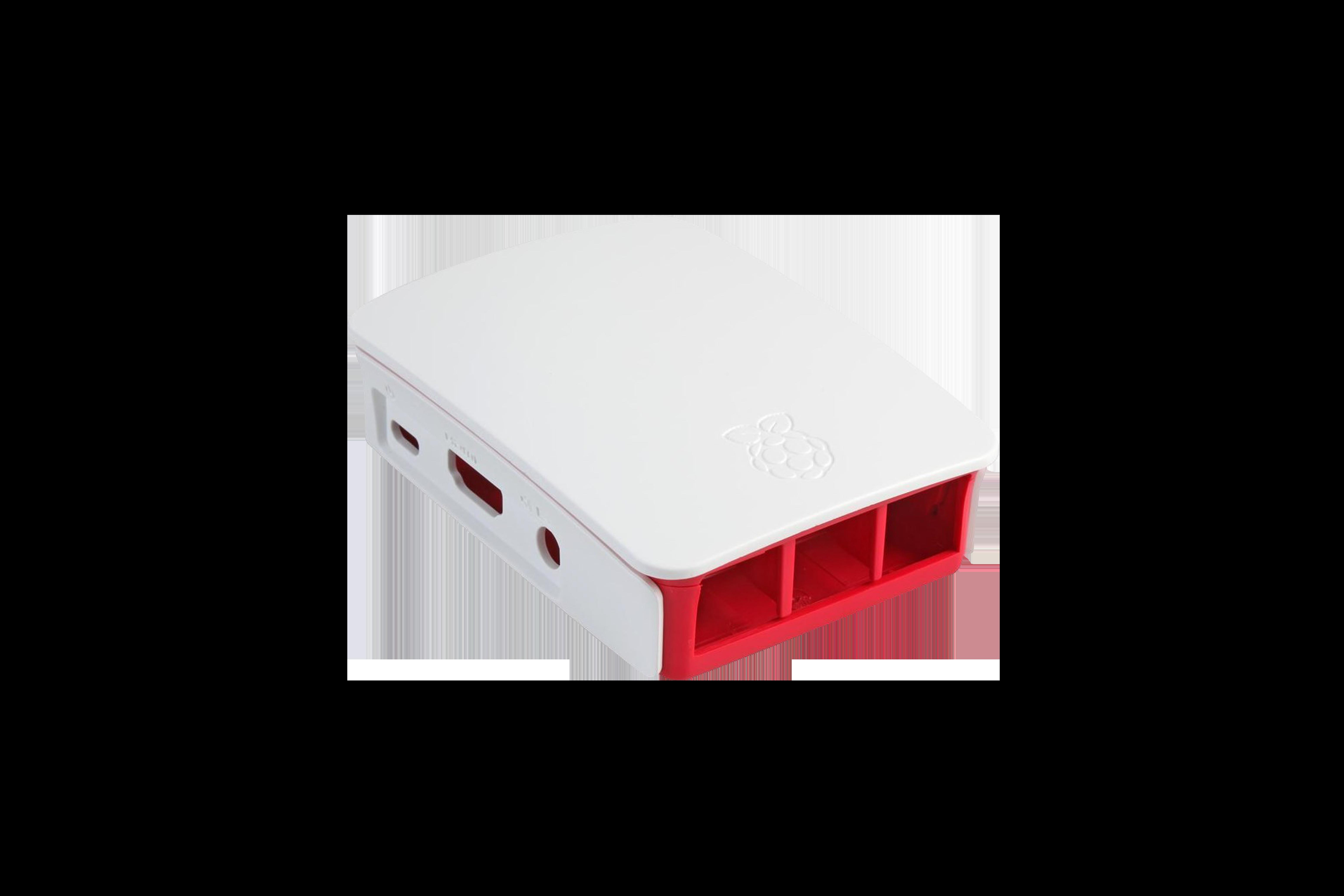 Offizielles Gehäuse für Pi 3 - rot/weiß