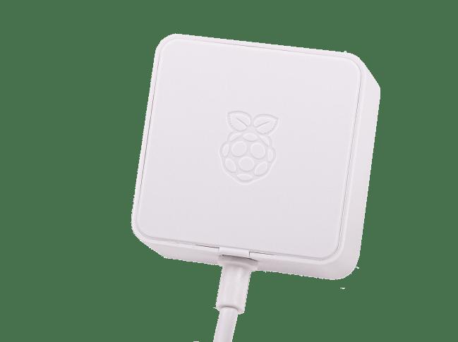 A product image for Raspberry Pi 5,1V/3A Netzteil mit USB-C für US, weiß