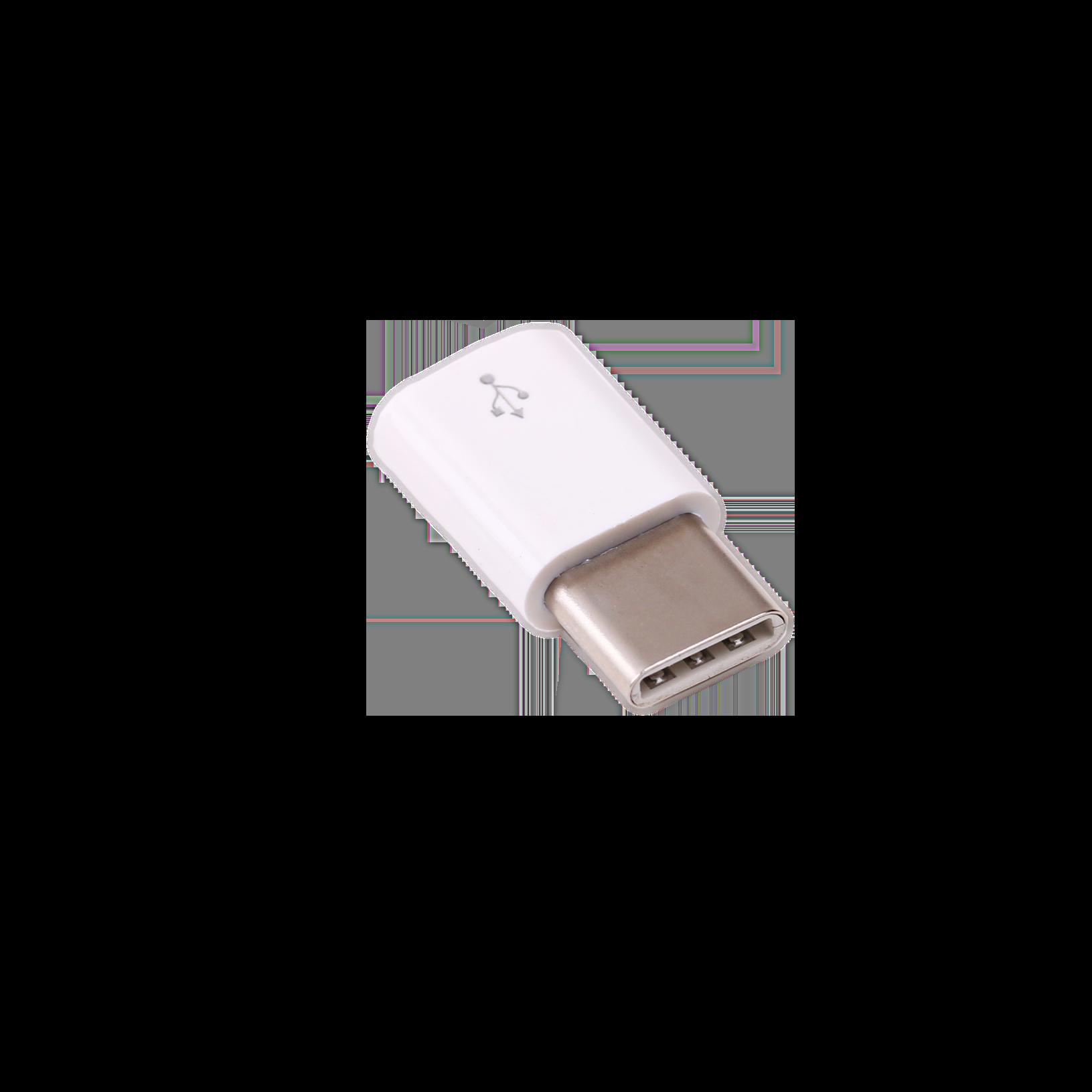 RaspberryPiMicro-USB-B auf USB-C Adapter, weiß
