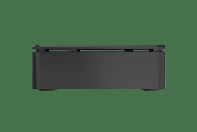 A product image for OKdo3-teiliges Standard-Gehäuse in Schwarz