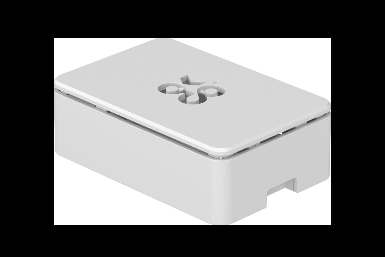 OKdo3-teiliges Standard-Gehäuse in Weiß