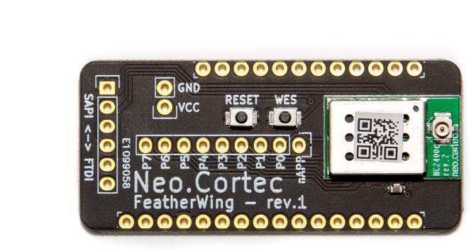 NeoCortec - Neomesh NC1000C-8-Ausbruch-Brett Kompatibel mit Adafruit Feather - FWNC1000C-8