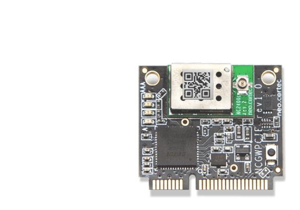 A product image for NeoCortec – Neomesh NC1000C-8 MiniPCI Express Interface Module – PCINC1000C-8