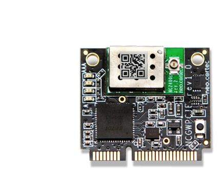 A product image for NeoCortec – Neomesh NC2400C MiniPCI Express Interface Module – PCINC2400C