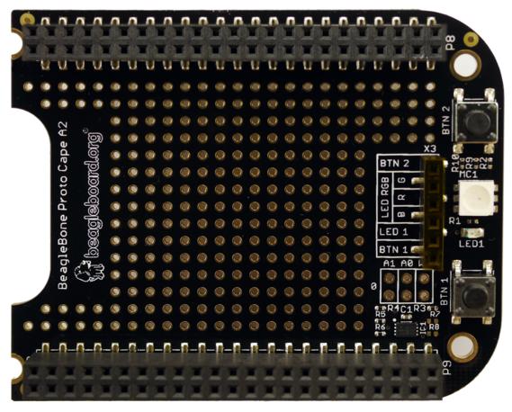 A product image for Beaglebone Proto Cape